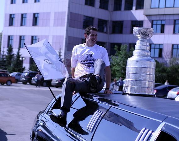 Федор Канарейкин: Увидеть  Кубок Стэнли в Музее хоккея приедут не только московские болельщики