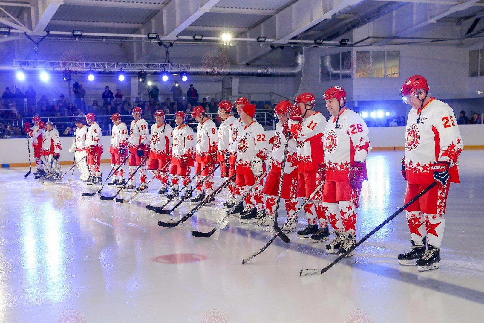 Газпромбанк бросает вызов Легендам хоккея!