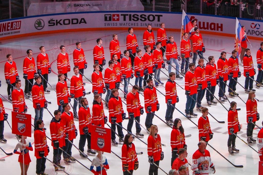 Парад в честь Юбилея хоккея
