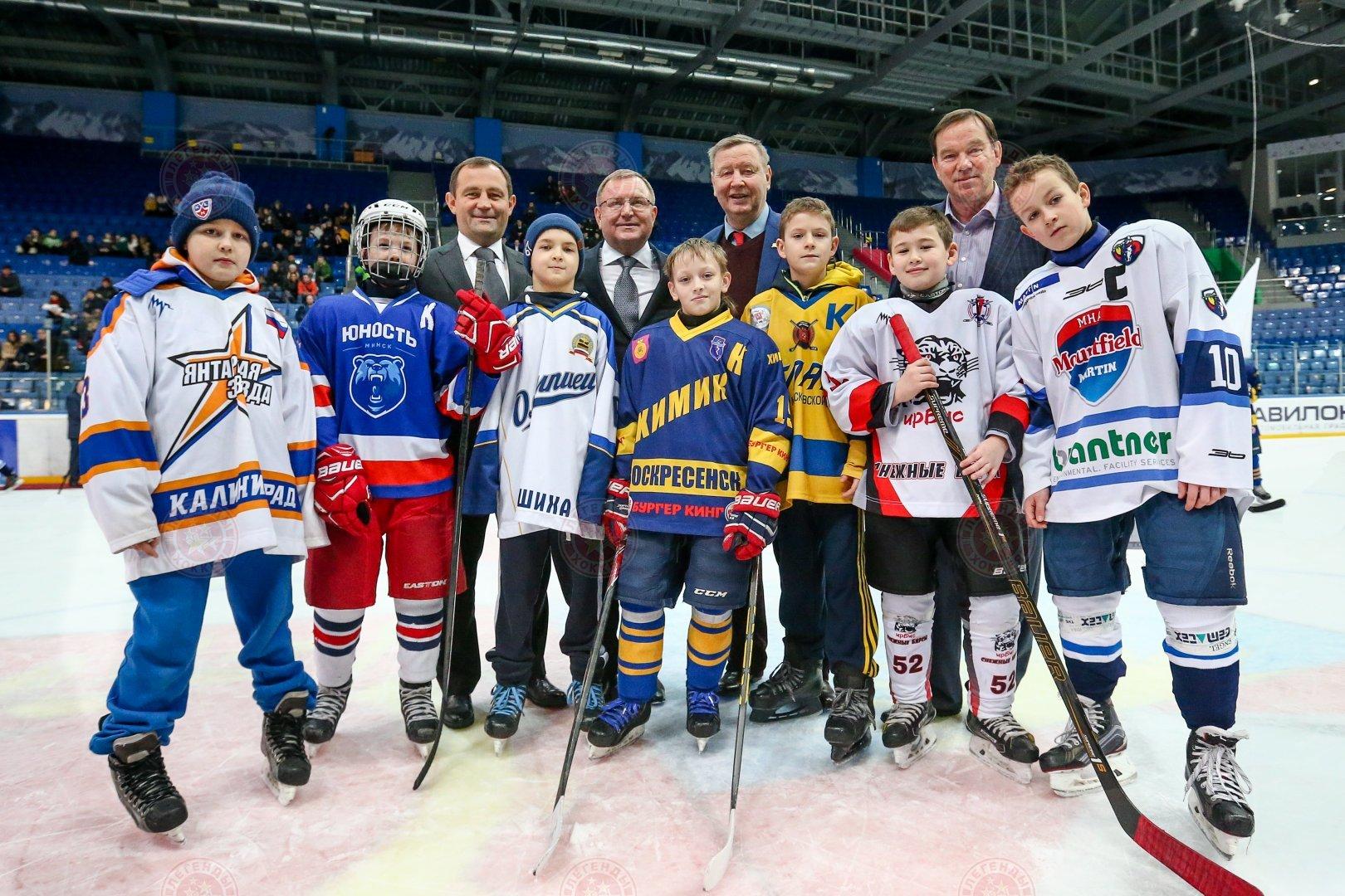 Хоккейный турнир на призы Юрия Ляпкина
