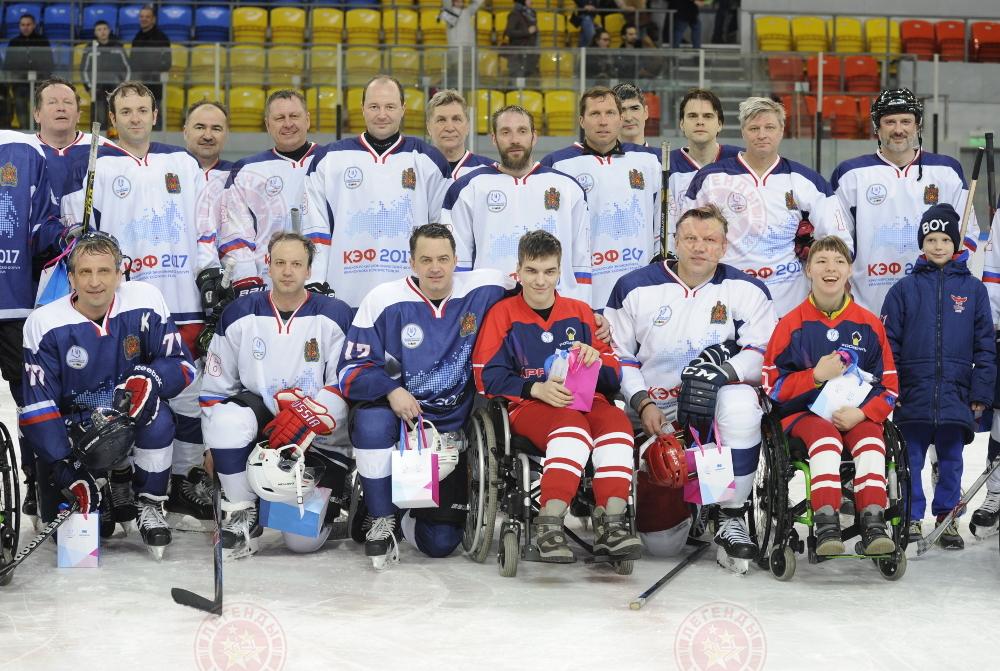 Легенды хоккея в Красноярске