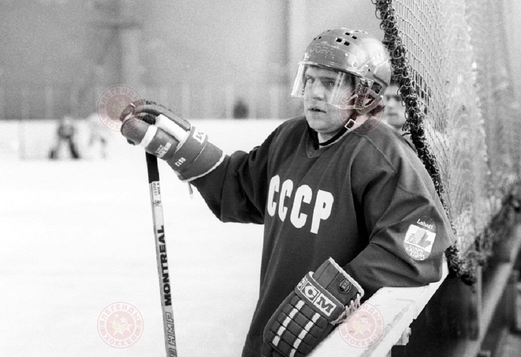 Легенды хоккея почтили память Владимира Крутова