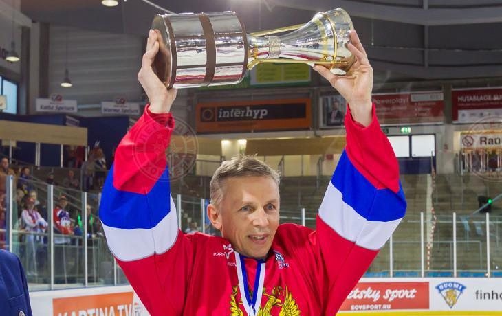 Игорь Ларионов: Победу посвящаю Сергею Гимаеву