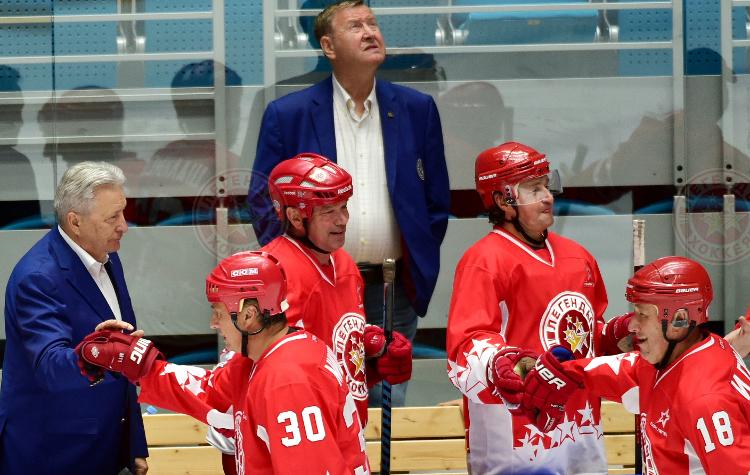 «Легенды хоккея» в Астане