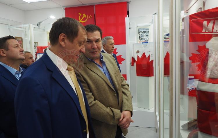 Выставка «Хоккейная классика. СССР – Канада. 1972» открылась в Музее хоккея