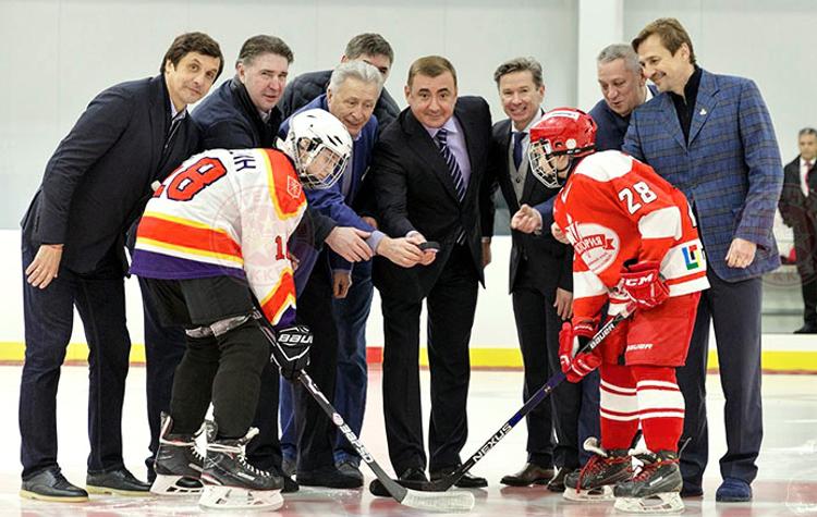 «Легенды» открыли новую арену в Новомосковске