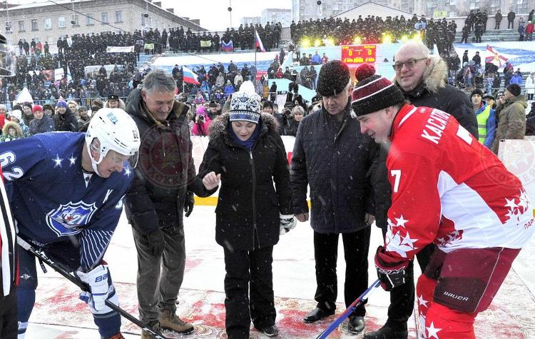 «Легенды хоккея» в Североморске