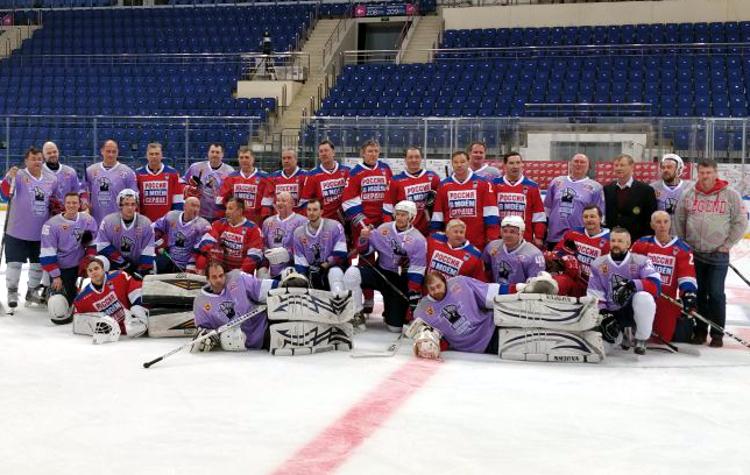 Хоккей против рака