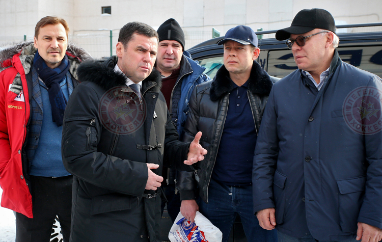 Легенды приняли участие в открытии новой арены в Ярославской области