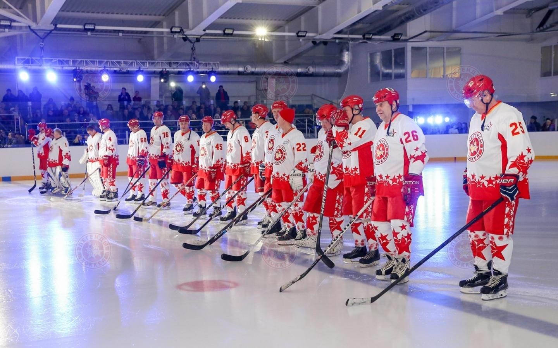 Легенды хоккея в Севастополе!