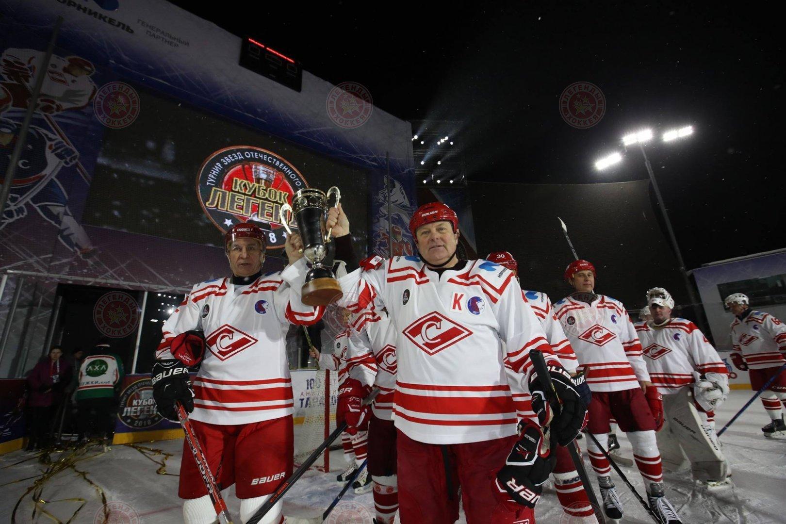 Кубок Легенд впервые у «Спартака»!
