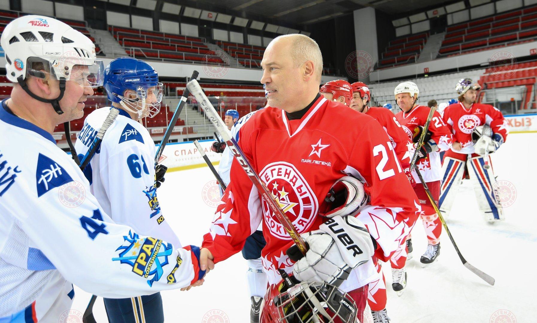 Прощальный матч на льду в Сокольниках