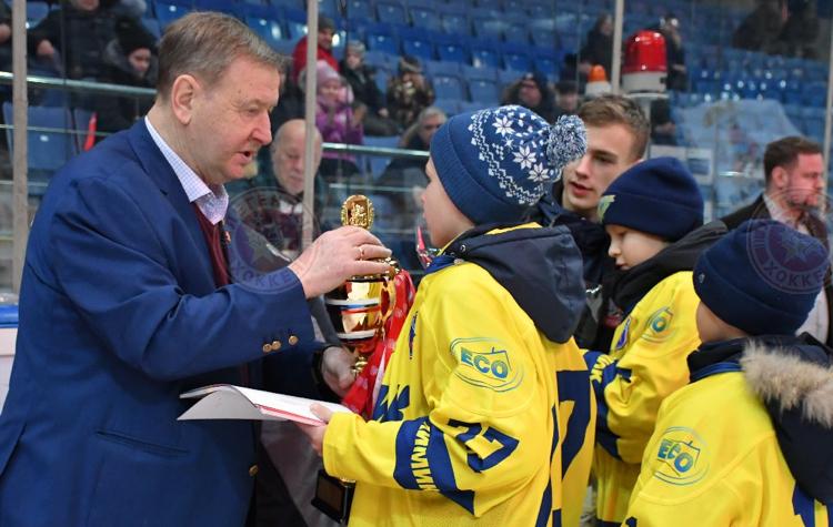 Хоккейный турнир имени олимпийского чемпиона Юрия Ляпкина завершился в Балашихе