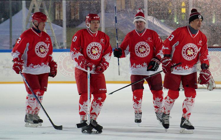 Легенды хоккея в Туле
