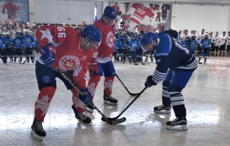 «Легенды хоккея» в Севастополе