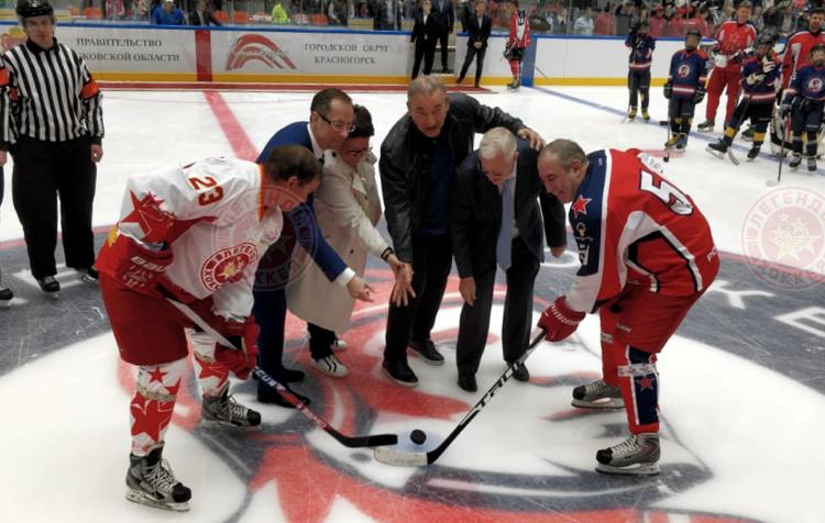 В Красногорске открыли Академию хоккея имени Владимира Петрова