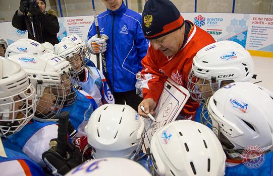 Федор Канарейкин провел мастер-класс в Томске
