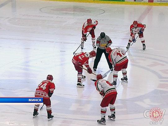 Хоккейная команда Президента Беларуси выиграла в товарищеском матче у дружины «Легенды хоккея СССР»