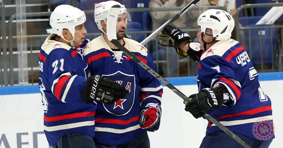 Дубль Кознева принес победу СКА