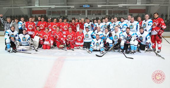 Выставочные матчи «Легенд хоккея» в Пскове