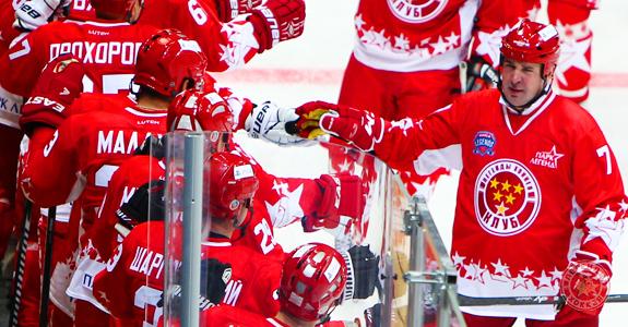 Благотворительный матч  «Легенды СССР» - «Друзья Хоккея России»