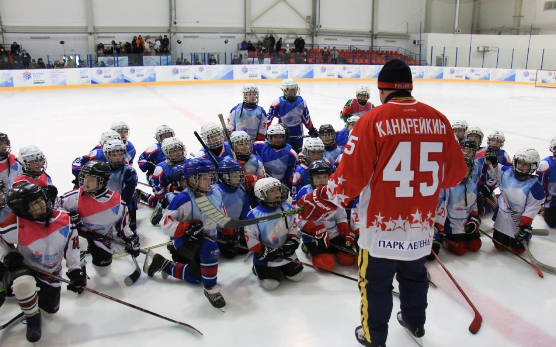 14 января – матч-открытие Детской Лиги  «Легенды Хоккея»