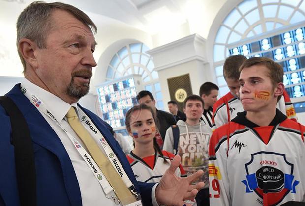 «Гимаев был голосом российского хоккея»