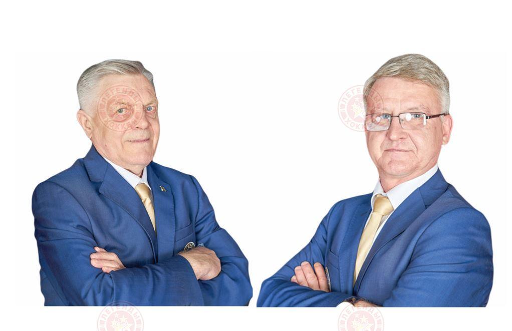 Игорь Самочёрнов и Владимир Тюриков принимают поздравления!